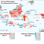Indonesia-2014-Presidential-Election-Map